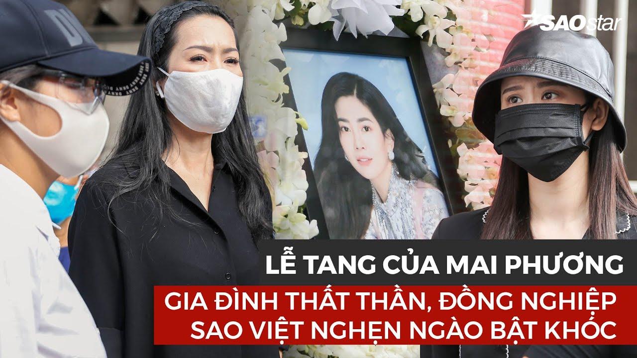 Lễ tang của Mai Phương: Gia đình thất thần, sao Việt nghẹn ngào bật khóc tiễn đưa cô đi hỏa táng
