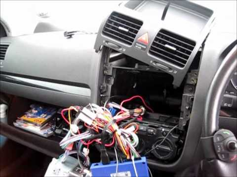 Parrot mki9000 vw golf mk v 2007 installation youtube greentooth Image collections