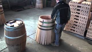 Cognac.com: Cognac & Wine Barrel Making At Tonnellerie Sansaud Cooperage Near Cognac France