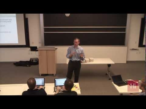 "Harvard i-lab | ""Mastering the VC Game: How to Raise Your First Round of Capital"" with Jeff Bussgang"