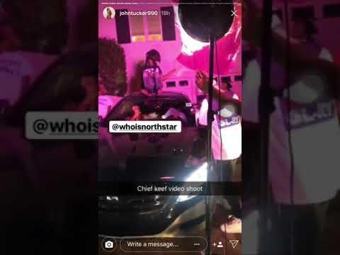 Chief Keef Part ways Unseen Video Shoot