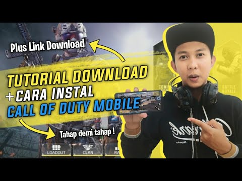 TUTORIAL DOWNLOAD & CARA INSTAL CALL OF DUTY MOBILE