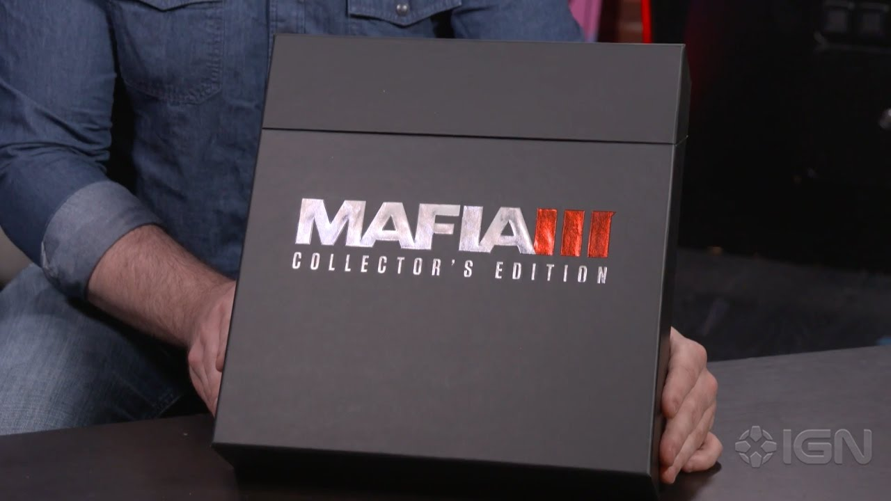 Unboxing the Mafia 3 Collector's Edition, Vinyl Soundtracks, and Playboy  Prints