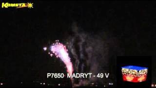 Fajerwerki Kometa - Wyrzutnia P7650 Madryt