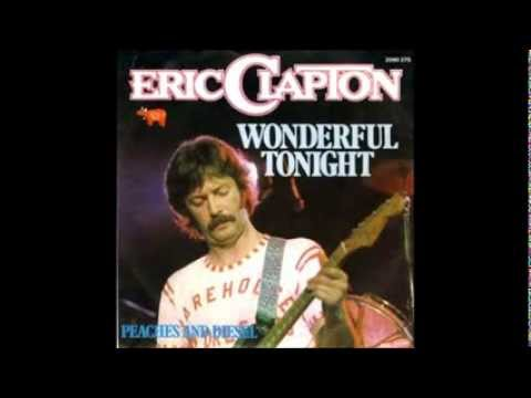 Eric Clapton Wonderful Tonight- lyrics Wonderful Tonight ...