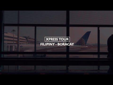 Filipiny 2018 - Boracay i lotnisko w Singapurze
