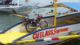 How to travel the Philippines on motorcycle. Island hopping with your bike.