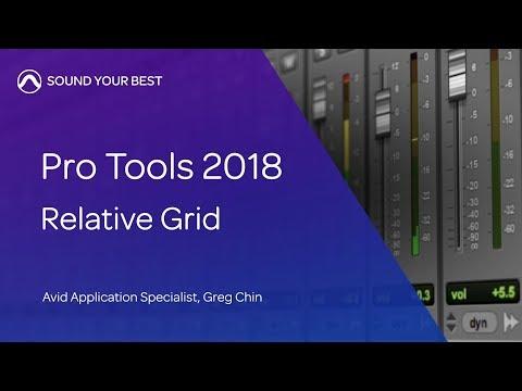 Avid Pro Tools 2018 — Relative Grid