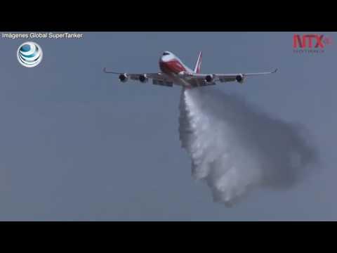 Chile usará el avión contra incendio más grande del mundo thumbnail