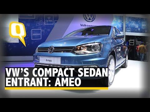 Ameo: Volkswagen's Compact Sedan Entrant