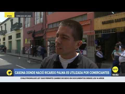 Centro de Lima: casona donde nació Ricardo Palma es utilizada por comerciantes