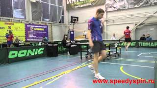Russian table tennis youth championship TOP-12, 2016, Nikulin-Ivonin FHD