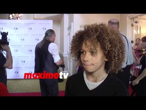Armani Jackson  Young Artist Awards 2015 Red Carpet