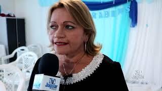 Lindalva Presidente da Câmara de vereadores na festa das agentes de saúde de Tabuleiro do Norte