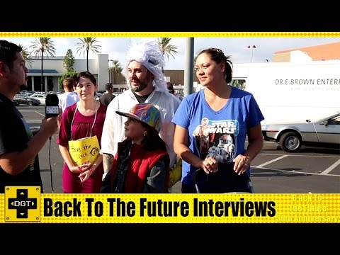 Back To The Future 30th Anniversary Interviews