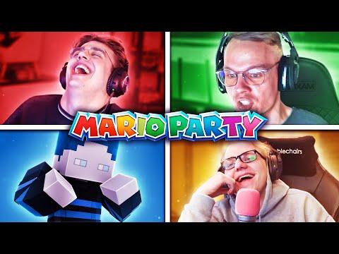 Die LUSTIGSTE Runde Mario Party 😂 (Mit Sascha, Henke & Basti)