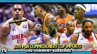 PBA COMMISSIONERS CUP IMPORTS | Kayanin kaya ni Brownlee idefend ang Title?