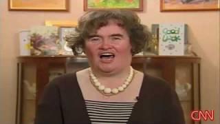 Susan Boyle Acapella on CNN