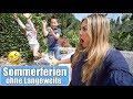 Meine Kinder drehen durch 🤪 Sommerferien ohne Langeweile! Pizza selber machen VLOG   Mamiseelen