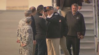 Trump Arrives In Northern California As Camp Fire Death Toll Rises