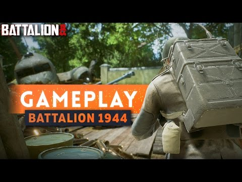 ► FIRST GAMEPLAY! Thoughts and Impressions - Battalion 1944