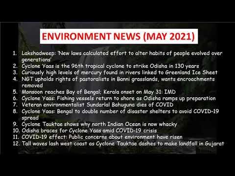 Environment News - May 2021 | DTE