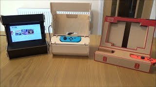 Building & Testing 3 ARCADE STANDS for the NINTENDO SWITCH