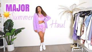 MAJOR Summer Haul (Tie dye, mesh, loungewear, blazers, sunglasses, sneakers) | jasmeannnn