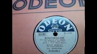 Bully Buhlan: Wunschballade (Ja, Würstchen mit Salat...)  Berlin 1947