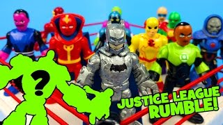 Justice League Toys Shake Rumble Game with DIY Batman Figure KIDCITY