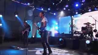 Bush - The Only Way Out (live on Jimmy Kimmel)