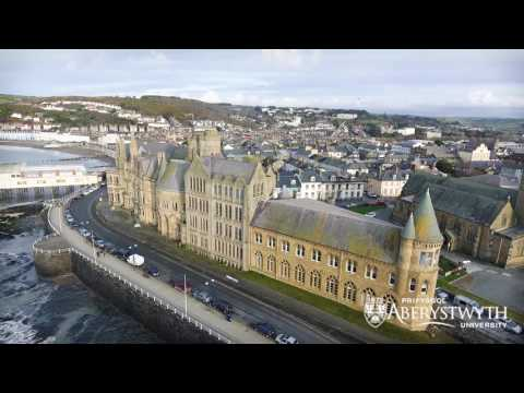Aberystwyth from Above (Drone footage)