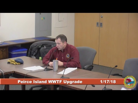 Peirce Island Waster Water Treatment Facility Upgrade 1.17.2018