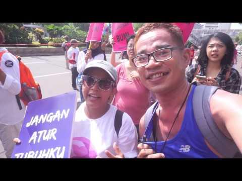 Vlog Cilomi 2 : Woman March Jakarta 2017
