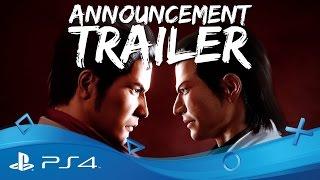 Yakuza Kiwami | PSX 2016 Announcement Trailer | PS4