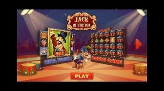 Jack In The Box Slot, Bonus plus £5 stakes