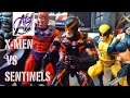X-Men [Stop Motion Film] X-Men vs Sentinels