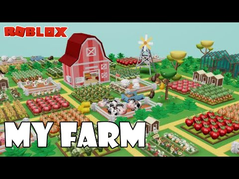 NEW FARMING GAME!!   Roblox My Farm  
