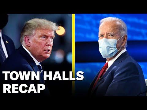 The Trump And Biden Town Halls   Pod Save America