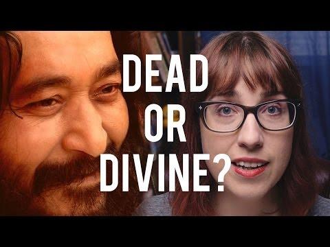 Is This Hindu Guru Meditating or Dead? Answer: He's Dead.