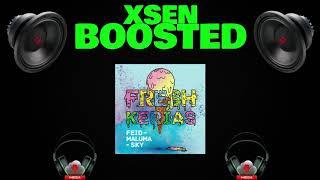 Feid, Maluma, Sky - FRESH KERIAS (Bass Boosted)