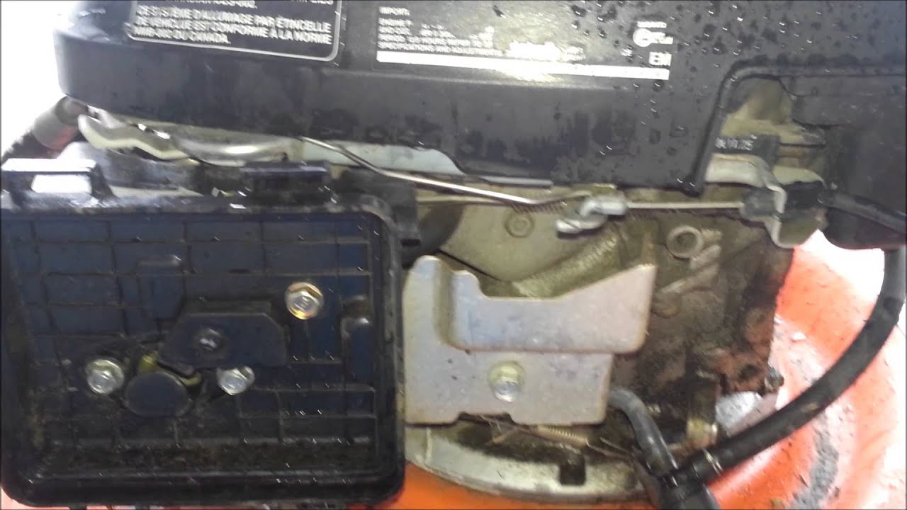 Husqvarna Push Mower Rebuild 1 Oil Air Filter And