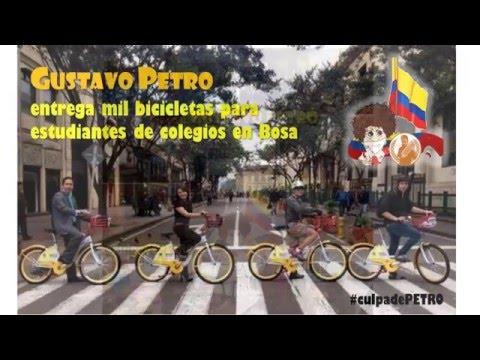 GUSTAVO PETRO y sus Ganas de hacer por Bogota!