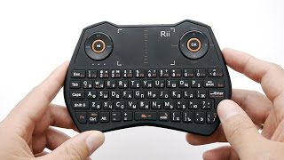Rii mini i28 - компактная клавиатура, мышка и тачпад. Все в одном!