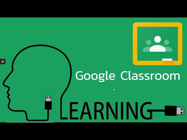Google Classroom EP.1 (การสร้างห้องเรียนออนไลน์)