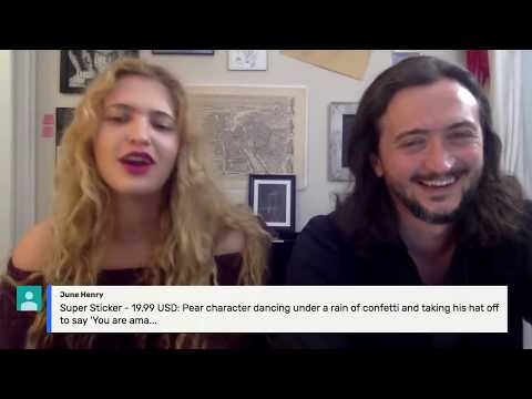 Live Chat with Lee Camp & Eleanor Goldfield