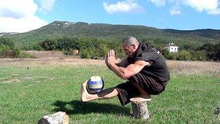 Как накачать сильные ноги без железа и тренажеров Метод из Единоборств