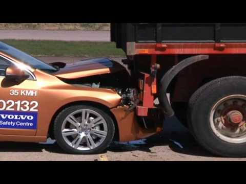 Insane Volvo brake test epic fail