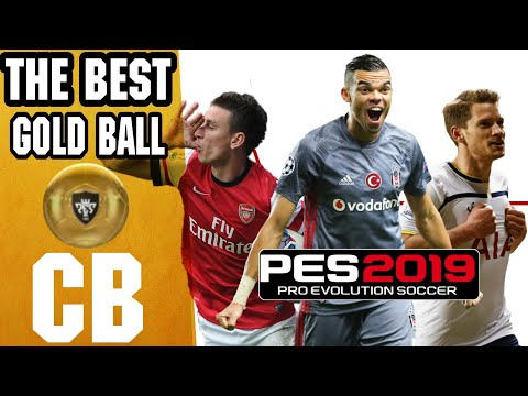 Best Gold Ball CB(Centre Back) | PES 2019 - YouTube
