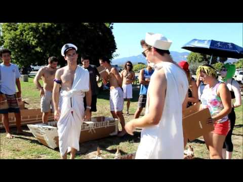 UCSB ME189A Boat race, music by Pk Jazz Collective via Free Music Archive